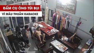 Người đàn ông to khỏe đấm túi bụi ông già 77 tuổi từ mâu thuẫn do karaoke