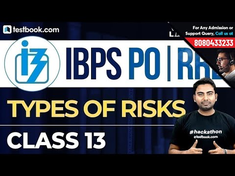 IBPS PO   RRB : Financial & General Awareness Class 13   Types of Risks   Abhijeet Sir (видео)