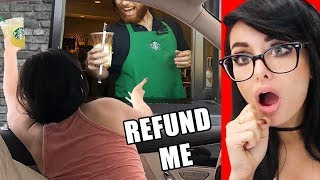 RUDE CUSTOMERS CAUGHT ON VIDEO Compilation