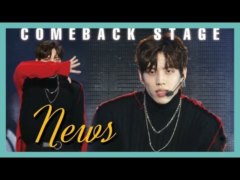 [Solo Debut] Jang Dong Woo - News,  장동우 - News Show Music Core 20190309