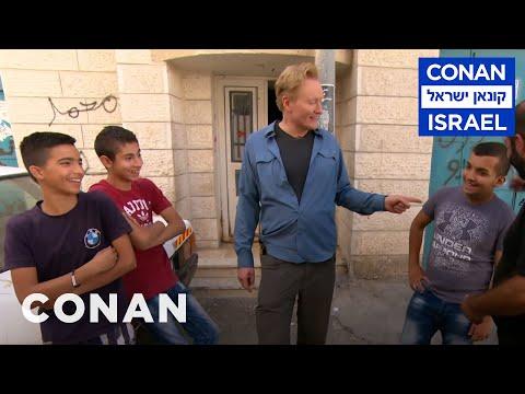 Conan v Izraeli #6: Setkání s aktivisty a návštěva uprchlického tábora