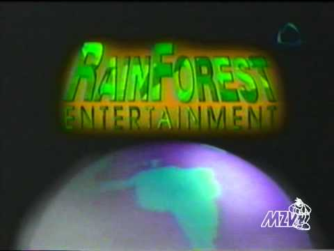 Rainforest Entertainment / Franklin-Waterman / Claster Television Incorporated logos