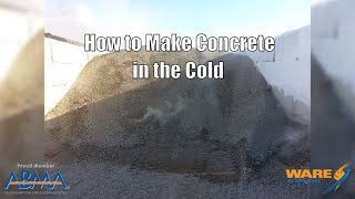 How to Make Concrete in the Cold | Aggregate Steam Heating