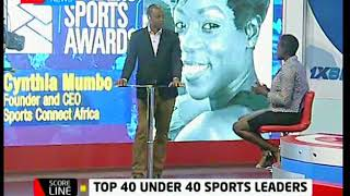 Cynthia Mumbo talks about Leaders Sports Awards | KTN News Scoreline