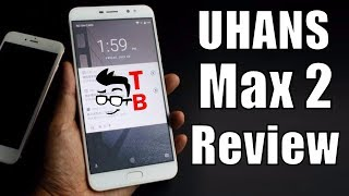 UHANS Max 2 Review and Hands-on: 6.44-inch Display and Four Cameras