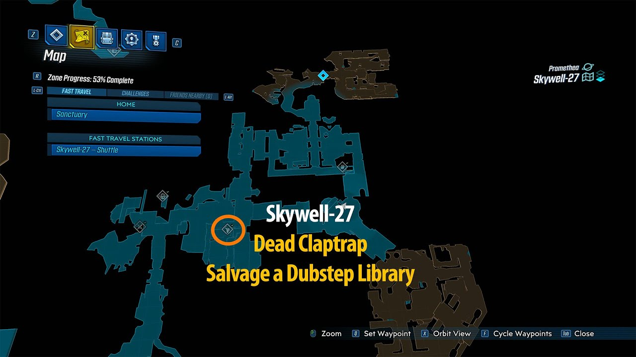 Video Dead Claptrap - Salvage a Dubstep Library - Crew Challenge