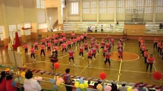 แข่งขันเต้นแอโรบิก กีฬาบุคลากรครู ปี 2559