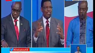 Key issues- leadership and Integrity, corruption, education discussed: Presidential Debate 2017 pt 2
