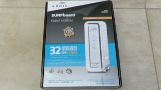 Unboxing Review of Arris Surfboard SB6190 32-Channel Cable Modem