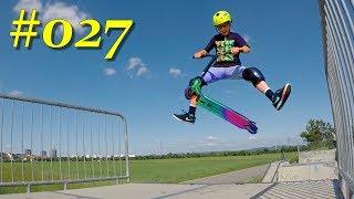 #027 - Skatepark Feudenheim, Schönau, Ladenburg - 2 days Stunt Scooter Nonstop