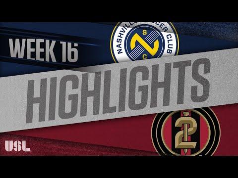 Nashville SC - Atlanta United 2 3:0. Видеообзор матча 01.07.2018. Видео голов и опасных моментов игры