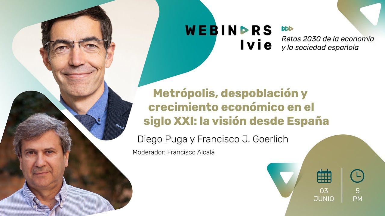 Metrópolis, despoblación y crecimiento económico en el siglo XXI: la visión desde España