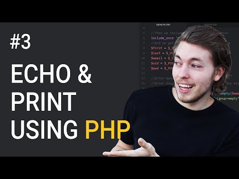 3: Output in browser using PHP | PHP tutorial | Learn PHP programming