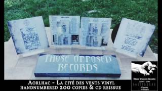 AORLHAC - La cité des vents - VINYL release 2016 (+ CD reissue)