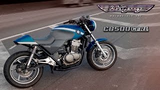 [CB 500] CB500CFR1 Cafe Racer Project