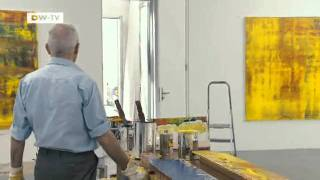 Gerhard Richter And His Paintings On Screen | Gerhard Richter Painting Film | Euromaxx