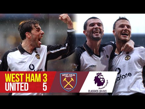 West Ham 3-5 Manchester United