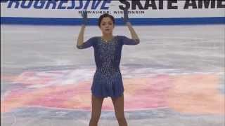 2015 Skate America - Evgenia Medvedeva FS NBC
