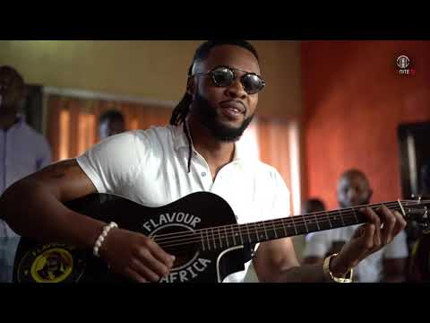 Flavour - I J E L E visits Enugu Cheshire Home(Touching lives with music)