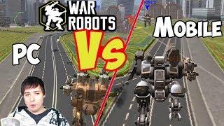 War Robots - Mobile Vs PC Gameroom - Which Platform? Starter Guide Tutorial