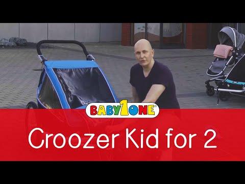 Croozer Kid for 2 Fahrradanhänger