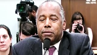 Sleeping Ben Carson Throws His Wife Under The Bus During Testimony