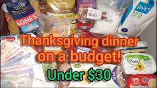 Thanksgiving dinner on a budget under $30 | Go Shopping with me in Cambodia!