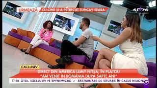 Lumy Nitsa a venit direct din SUA în platoul de la Star Matinal! Mi-ar plăcea să devin actriţă