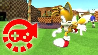 360° Video - Run Sonic Run, Green Hill Zone