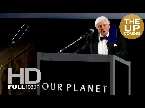 "Sir David Attenborough's speech at the premier of Our Planet: ""few people will protect the natural world, if they don't first love and understand it."""