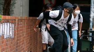 Hong Kong student protesters surrender to police