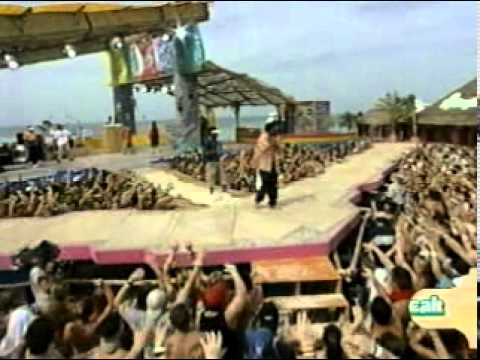 Shaggy - Fashionably Loud Spring Break with Molly Sims host 2001