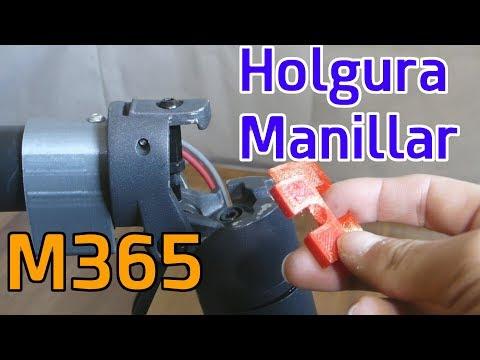 Holgura Manillar patinete Xiaomi M365 - Instalación