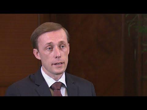 Jake Sullivan discusses Trump's Jerusalem decision with CGTN