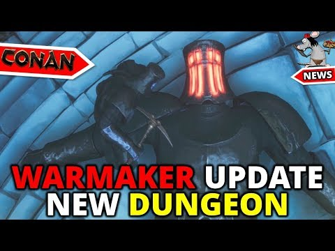 CONAN EXILES NEW DUNGEON - Warmaker Sanctuary Walkthrough - Test Live