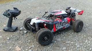 Thunder Tiger BUSHMASTER - High Speed Brushless 1/8 RC Car // Testbericht & Testfahrt
