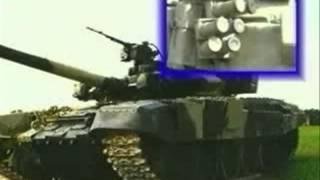 Мощьный танк Т-90  музон из RA