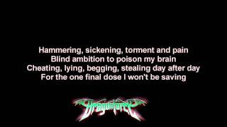 DragonForce - Give Me The Night | Lyrics on screen | HD