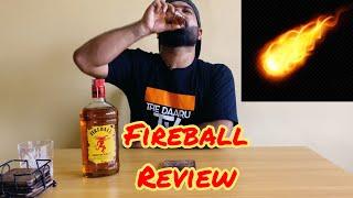 Fireball Whisky Review L Swally Sunday #Fireballwhiskey