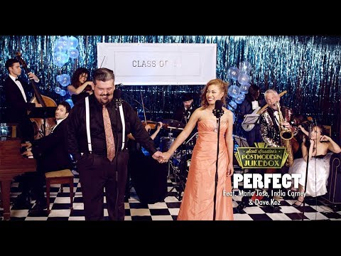 Perfect Duet - Ed Sheeran & Beyonce ('50s Prom Cover) ft. Mario Jose, India Carney & Dave Koz (видео)