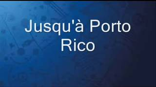 Ridsa   Porto Rico Paroles