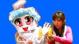 長崎ご当地サイダーのカステラサイダーを飲んでみたとよ~~\(^ω^\)
