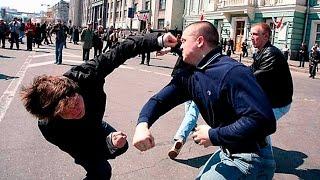 Как бить в уличной драке / Убойная двойка от крапового берета