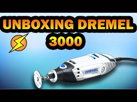 Unboxing Dremel 3000 herramienta rotativa review en español – Exp locos