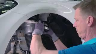 BILSTEIN: Instrucțiuni instalare pentru suspensia pneumatică BILSTEIN B4, punte față – Mercedes-Benz C-Class