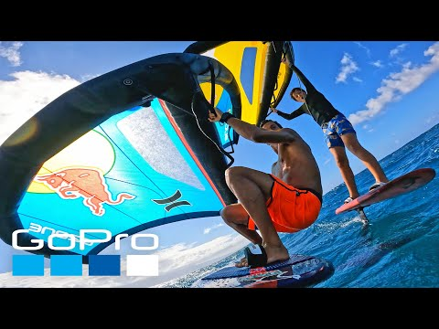 GoPro HERO10: Wing Foiling with Kai Lenny in Hawaii