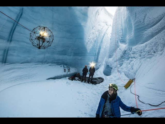 Противоударные спелеодроны изучили недра ледников Гренландии