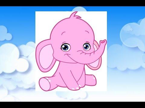 Детская песня Розовый слон