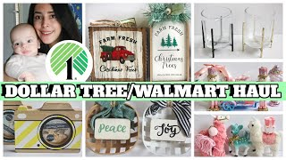 DOLLAR TREE HAUL + WALMART $1.98 HAUL