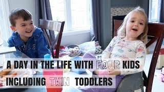 A DAY IN THE LIFE 14 | LIFE WITH FOUR KIDS INCLUDING TWIN TODDLERS | Nesting Story